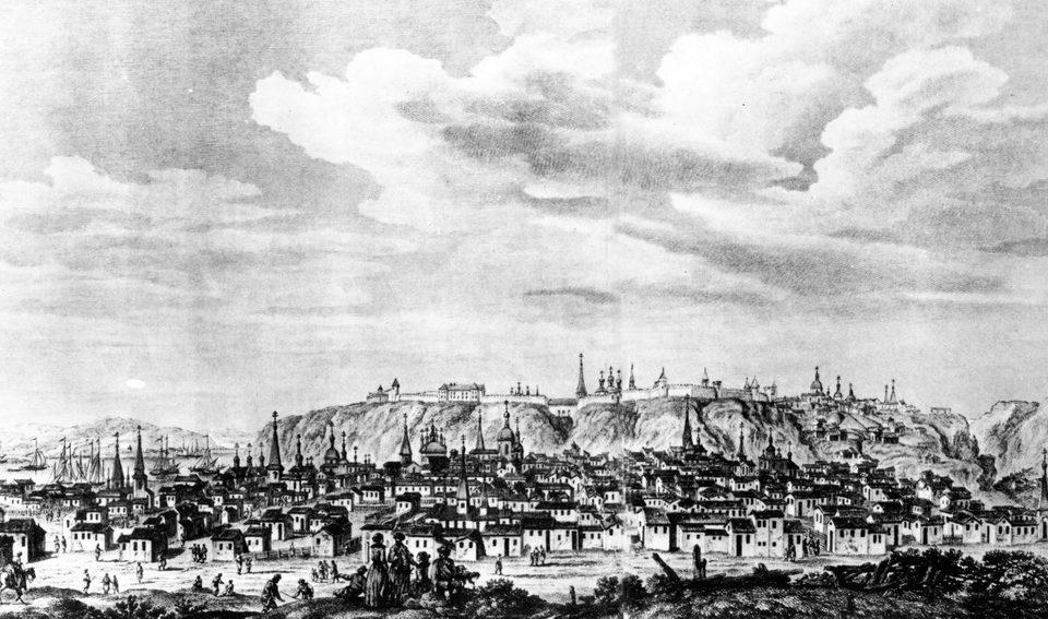 тобольск 17 век
